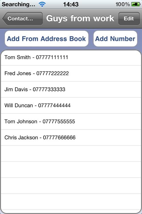 Easy SMS Lite screenshot-4