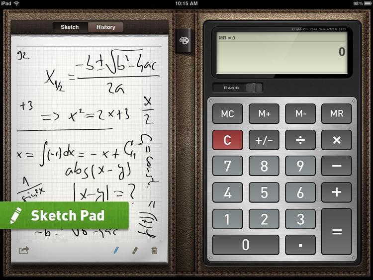 iHandy Calculator HD Pro screenshot-4