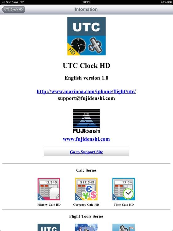 UTC Clock HD screenshot-4