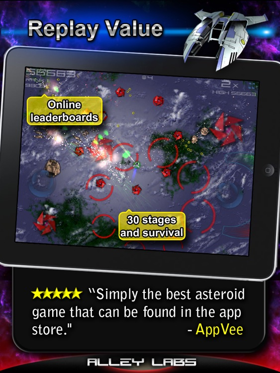 Meteor Blitz HD Free screenshot-4