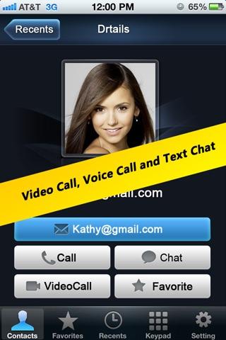 Talkx GTalk Video Call, Google Voice Phone Call+SMS screenshot-3