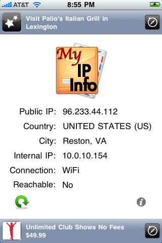 My IP Info screenshot 1