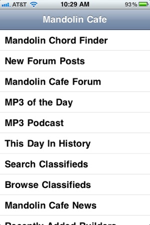 Mandolin Cafe On The App Store