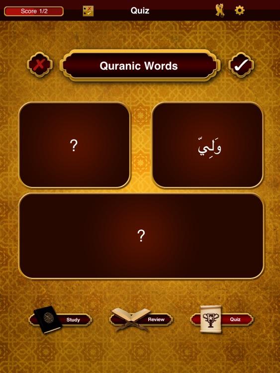 Quranic Words Lite for iPad -- Understand the Arabic Qur'an screenshot-3