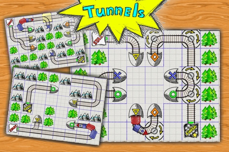 Doodle Train - Railroad Puzzler screenshot-3