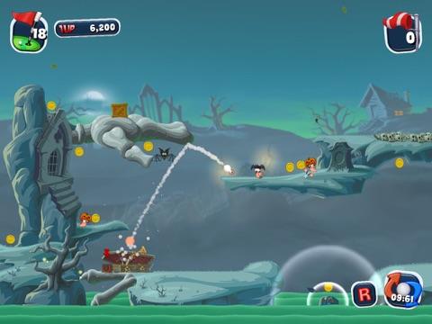 Скачать Worms Crazy Golf HD