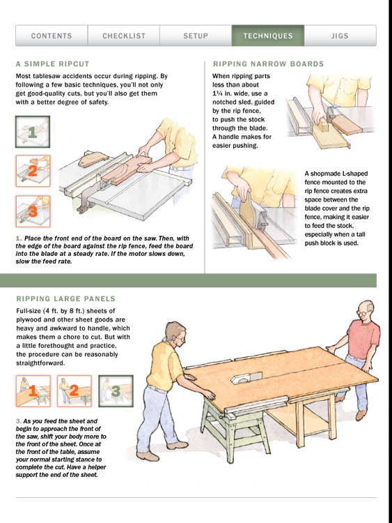 Tablesaw Basics from Fine Woodworking screenshot-3