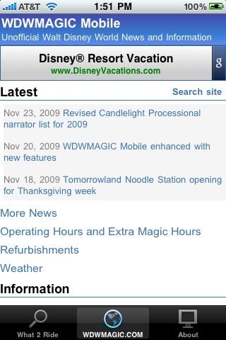 WDW What-2-Ride Walt Disney World Edition