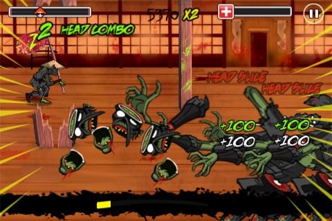 Katana Zombie FreePlay screenshot-4