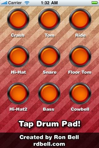 Tap Drum Pad (FREE)