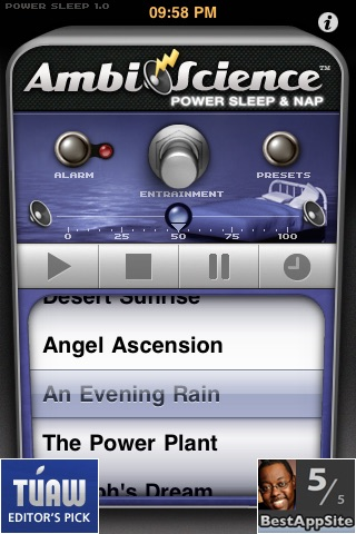 Power Sleep & Nap | AmbiScience™ • Binaural & Isochronic Ambient Sleep Utility screenshot-0