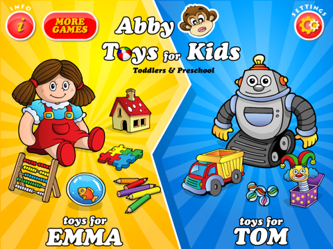 Abby - Toys - Games For Kids HD Free screenshot 1