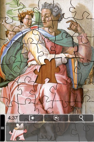 Michelangelo Jigsaw Puzzles screenshot-3