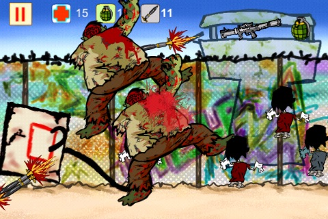 Zombie City Pro screenshot-1