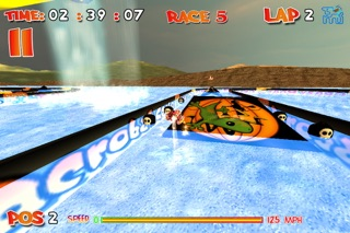 CrazyBoat Free screenshot three