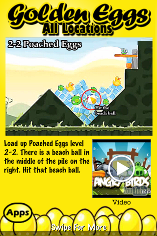 download Free Golden Eggs for Angry Birds ~ An easy guide and walkthrough of the hidden golden egg locations in Angry Birds apps 2