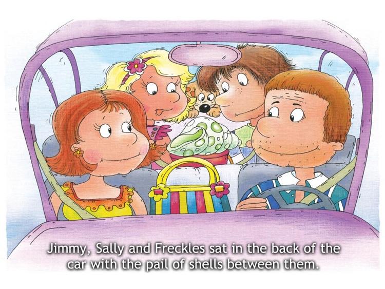 Danny The Dragon Meets Jimmy - HD Kids Book screenshot-3
