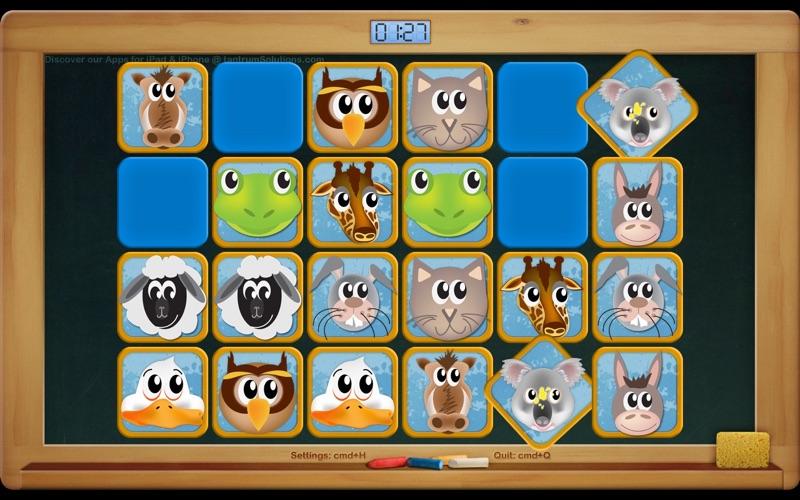 Preschool Animal Match Screenshot
