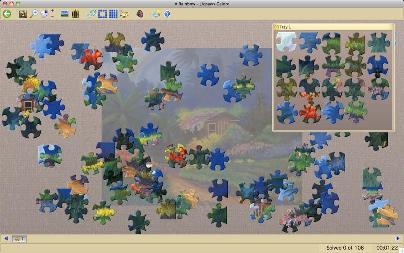Jigsaws Galore Free Screenshot