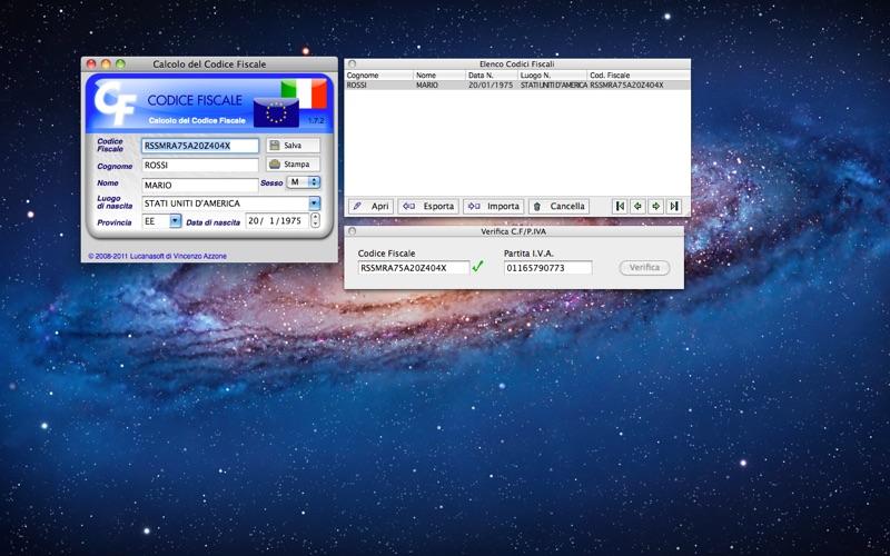 CodFiscPro Screenshot