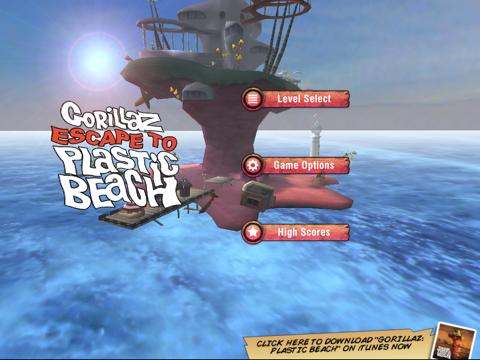 Gorillaz - Escape to Plastic Beach for iPad screenshot 4