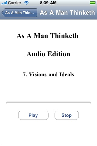 As A Man Thinketh - Audio Edition screenshot-4