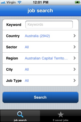 Randstad Job Search