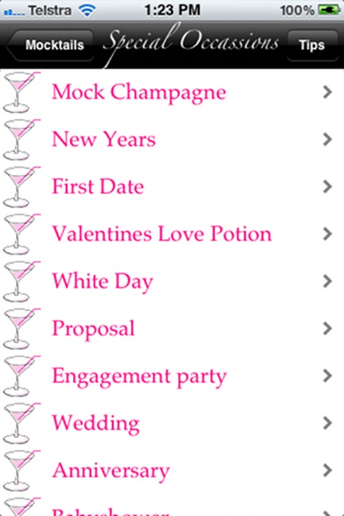 Mocktails screenshot-1