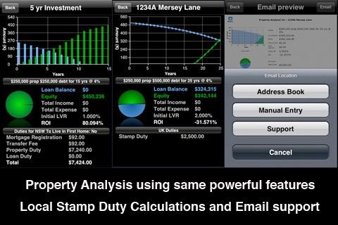 iHome - Loan, Mortgage and Property Tools screenshot 2