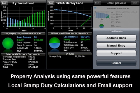 iHome - Loan, Mortgage and Property Analysis screenshot-1