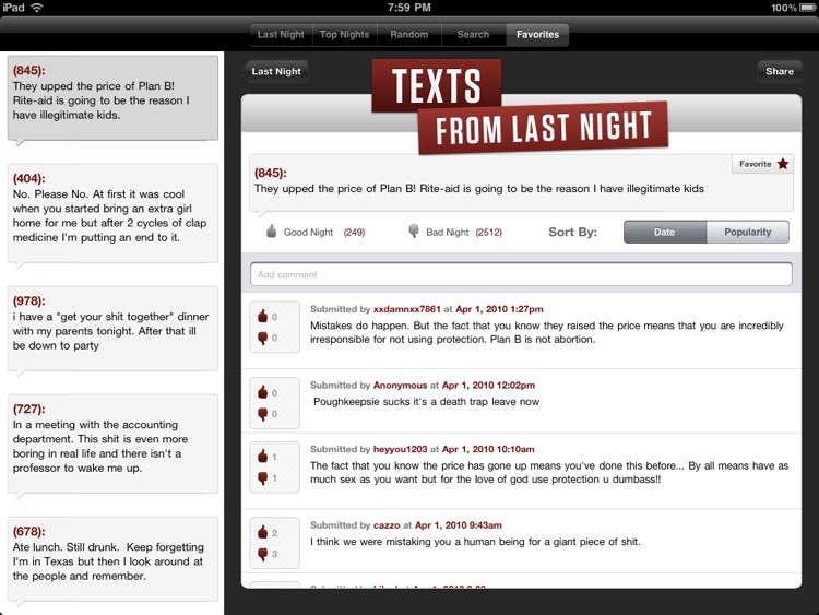 TFLN - iPad Edition screenshot-1