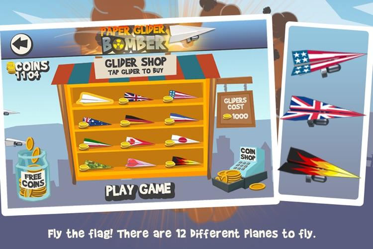 Paper Glider Bomber screenshot-3