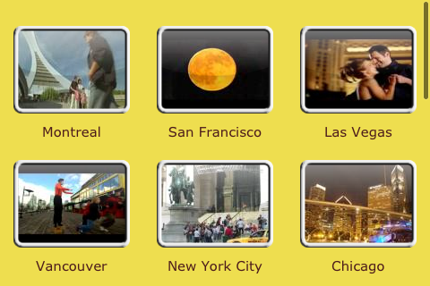 Tourist Guide to New York, San Francisco, Vancouver, Chicago + screenshot 1