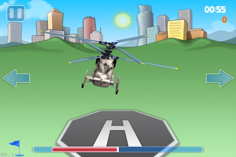 Helicopter Landing Pro Lite screenshot-0