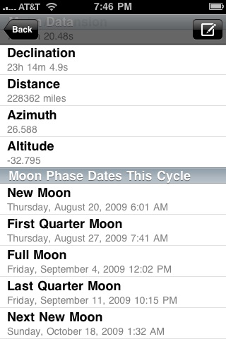 Clever Moon and Sun Calculator screenshot-2