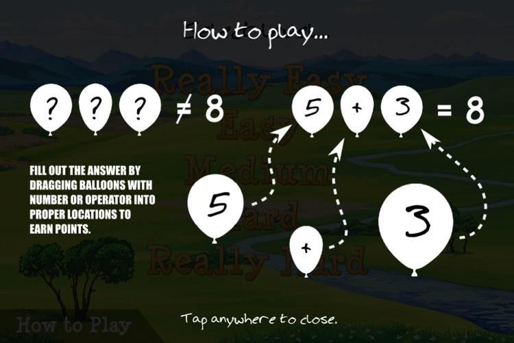 Math with Balloons screenshot-4