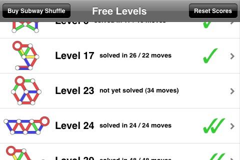 Subway Shuffle Lite screenshot-3