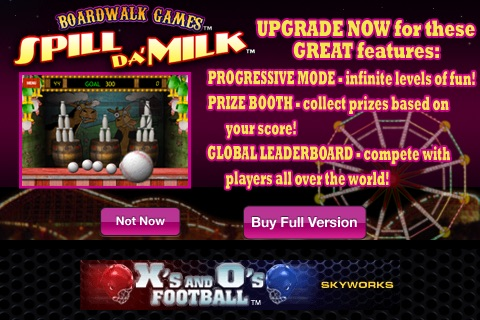 Spill Da' Milk™ Free - The Classic Arcade Games of Ball Toss! screenshot-4