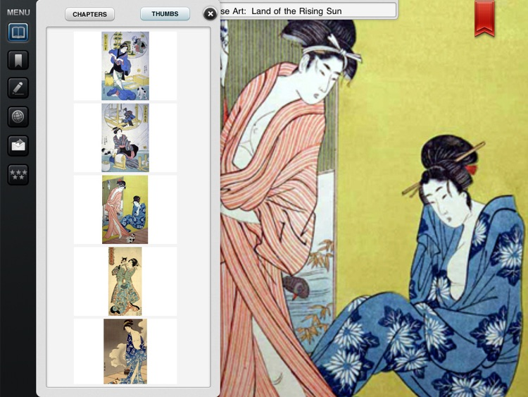 Japanese Traditional Art Gallery for iPad Lite