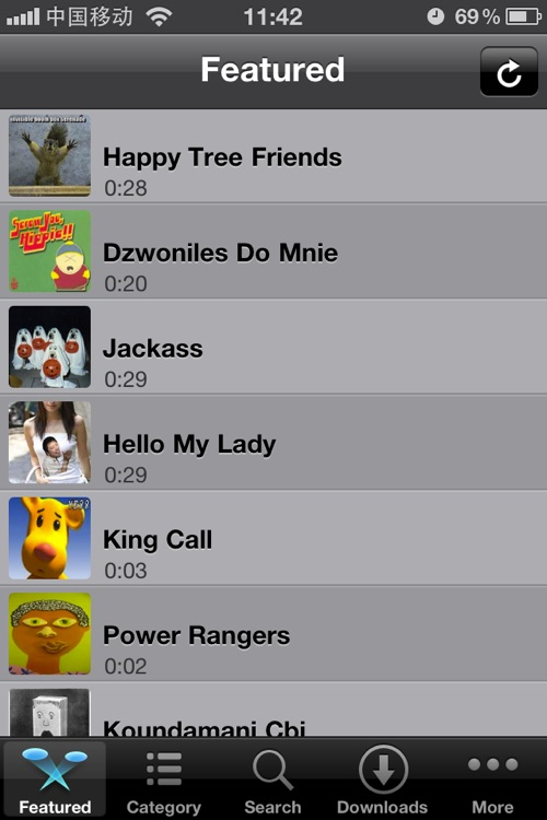 ★Funny Ringtones♫ In ONE screenshot-0