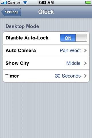 Qlock screenshot 2