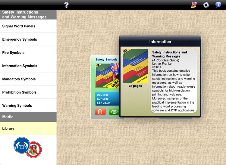 Safety Symbol Library screenshot-4