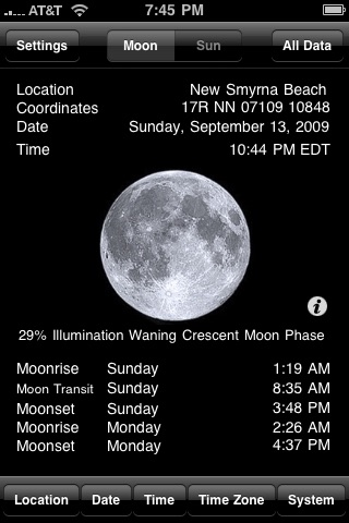 Clever Moon and Sun Calculator screenshot-0