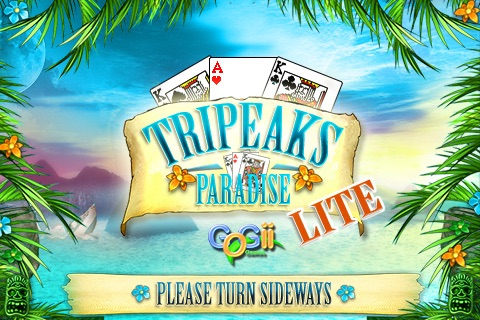 Tripeaks In Paradise Lite screenshot-0