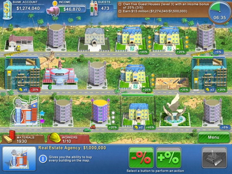 Hotel Mogul HD Lite screenshot-4