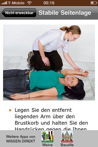 Erste Hilfe (auffrischen)