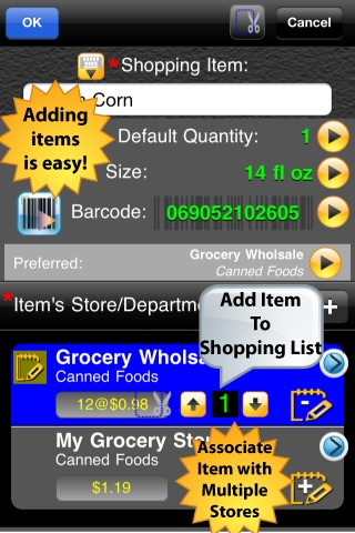 SHOPPING LIST - Shopping made Simple (GROCERY LIST & MORE) screenshot-3