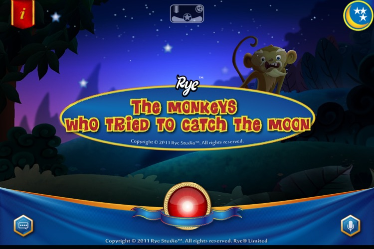 (Lite Edition) The monkeys who tried to catch the moon -by Rye Studio™