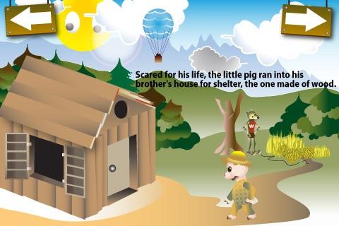The Three Little Pigs Free screenshot-3