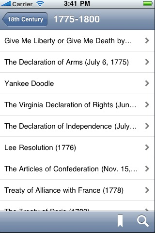 US Historical Documents & Speeches screenshot-1